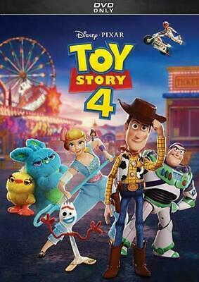 Toy Story 4 [DVD]  NEW AND SEALED, FREE POST.