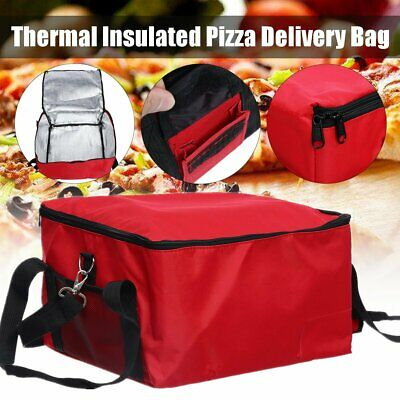 Pizza Delivery Bag Insulated Thermal Food Backpack Storage Delivery Holder AU