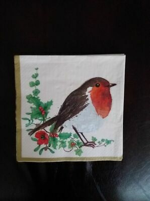 10 x lunch napkins, ideal for decoupage or for a party.