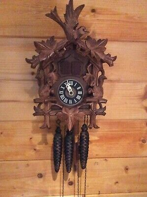 black forest antique cuckoo clocks