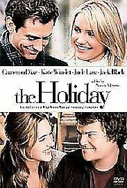 The Holiday (DVD, 2007) Starring Cameron Diaz and Jude Law Good condition