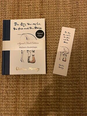 The Boy, The Mole, The Fox and The Horse: SIGNED First Edition Charlie Mackesy