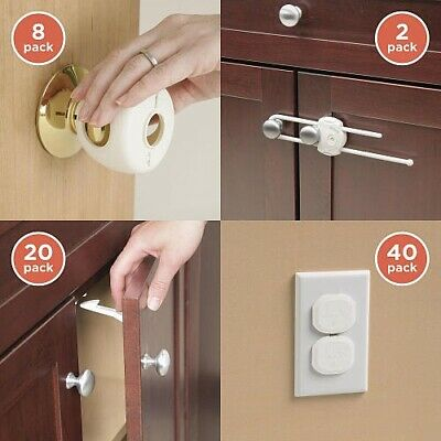 Safety Outlet Plug Protector Covers Child Baby Proof Electric Shock Home Guard
