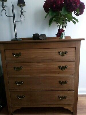 Antique Soid Wood Chest of Drawers