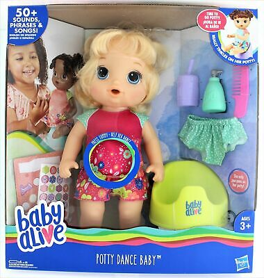 Baby Alive Potty Dance Baby(Blonde)