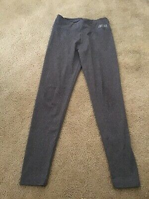 Justice Gray Girls Leggings Size 14