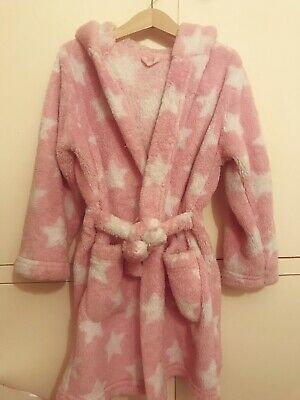 Girls M&S Dressing Gown age 4-5 Years