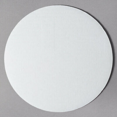 """Honeymoon Sno-Brite 10"""" Unwaxed Pizza/Cake Circle 100 Count"""