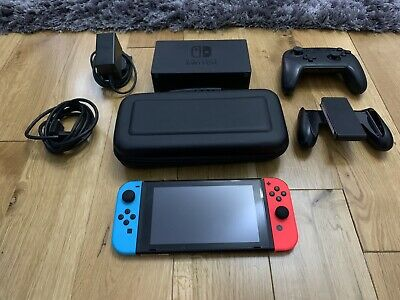 Nintendo Switch Console 4X Games Bundle With  Accessories - EXCELLENT CONDITION