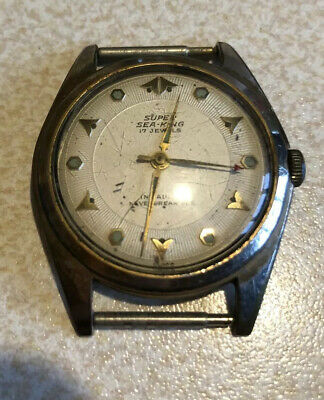 Early Rare Vintage SUPER SEA-KING WATCH
