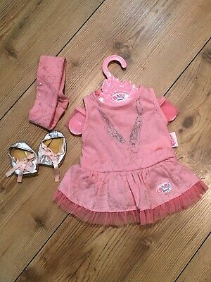 Zapf Creations Baby Born Ballet Outfit