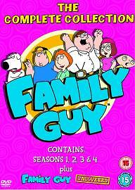 Family Guy - Series 1 To 4 - This item no longer for sale