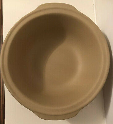 "Pampered Chef Stoneware Large Family Heritage 12.5"" Mixing/Cooking/Serving bowl"