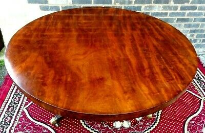 Antique Victorian  Mahogany Tilt Top Dining Table For A Xmas Nurses Support Fund