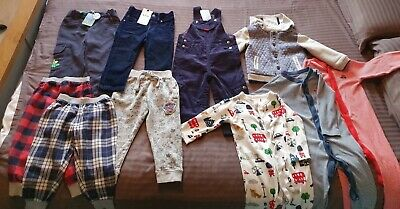 Bundle of Warm Baby Boys Clothes. 18-24 Months. Jojo Maman Bebe, Next. Some NEW!