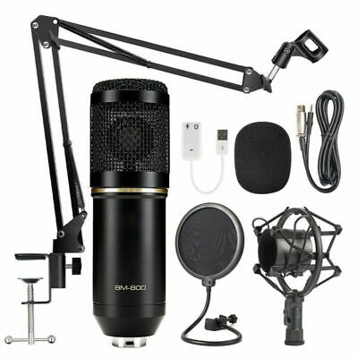 BM800/NW700 Condenser Microphone Kit Pro Audio Studio Recording & Brocasting Kit