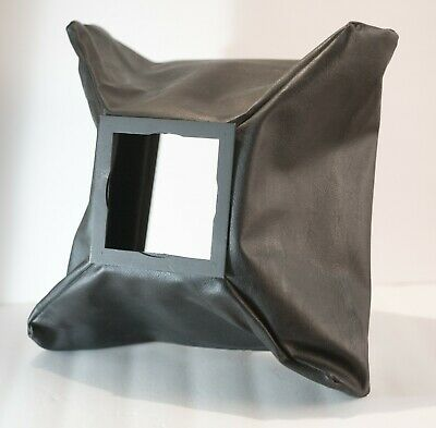 Leather Wide Angle Bag Camera Bellows