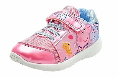 Peppa Pig Girls Pink Trainers