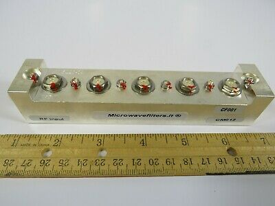 (1 NEW) RF Microwave Bandpass Filter Microwavefilters.It R02.2100-5ASCCT