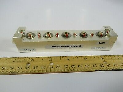 (1 NEW) RF Microwave Bandpass Filter Microwavefilters.It R02.2900-5ASCCT