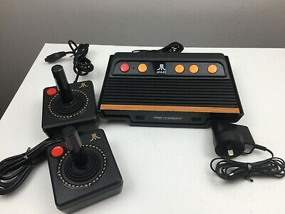 Atari Flashback - Classic Game Console - With 2 x Controllers and Leads -