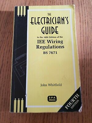 The Electricians Guide Iee Wiring Regulations Bs 7671