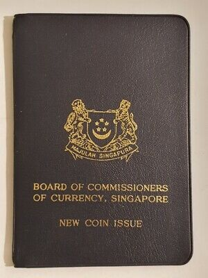 SINGAPORE - 1968 - NEW COIN ISSUE in wallet