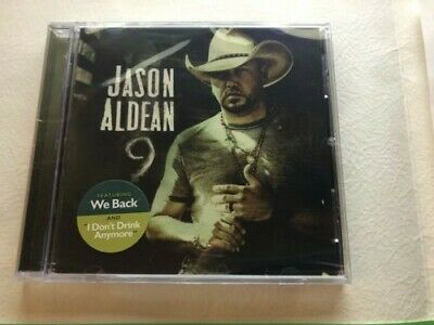 JASON ALDEAN -  '9' Nine - CD - NEW - Sealed -