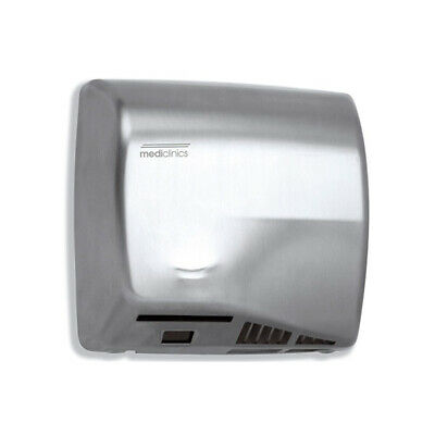 Mediclinics Automatic Speed Flow Sensor Operated Hand Dryer Stainless Steel