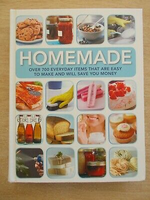 Reader's Digest~Homemade~700+ Projects~Recipes~Craft~400pp H/B