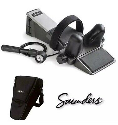 Saunders Cervical Traction Device with Carrying Case and Original Manual