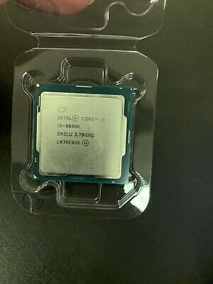 Intel 1151 Core i5 9600K 3.7GHz 6 Core 9MB Cache CPU PN BX80684I59600K