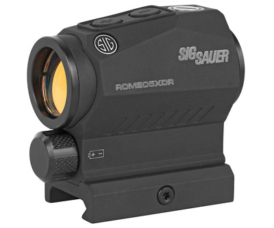Sig Sauer SOR52102 Tactical Black Romeo5 Compact 1X20mm Red Dot 2 MOA Sight