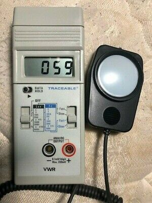 VWR Scientific Dual-Range Light Meter with Recorder Output