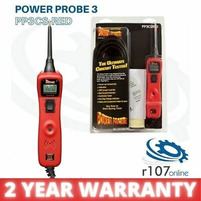 Power Probe III 3 Auto Electrical Circuit Tester, Black
