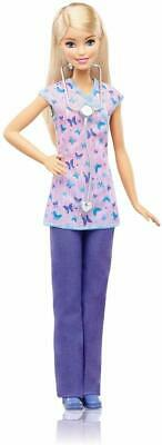 Barbie CAREERS Nurse Role Play, Role Model Toy, Jobs, Gift for 4 to 9 Years old