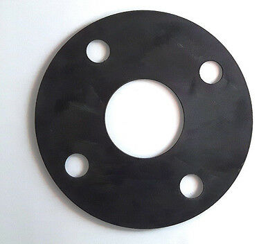 "EPDM Gasket Full Face PN 10/16 Flange Flat Drilled to BS4504 1/2"" to 8"" Sizes"