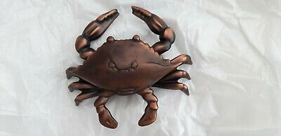 Michael Healy Blue Crab Door Knocker - Oiled Bronze MH1154
