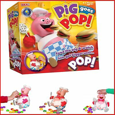Pig Goes Pop Game From Ideal Gift For Kids Girls Boys Fun Filled Action Game