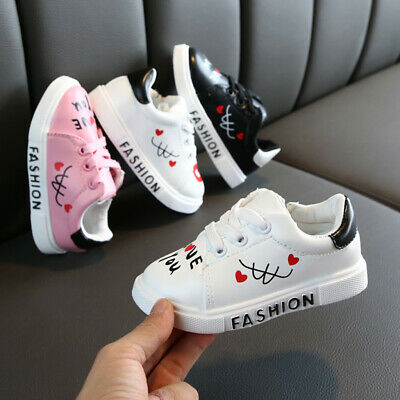 Toddler Kids Baby Boys&Girls Shoes Boys Girls Letter Sneakers Sport Casual Shoes