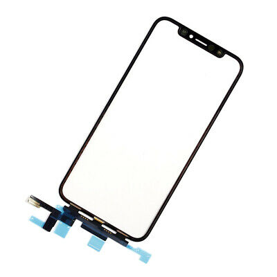 OEM for iPhone X Outer Front Glass Touch Panel Digitizer Touch Screen, Black