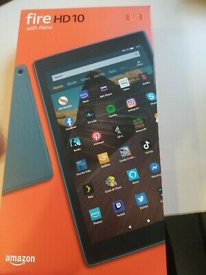 Amazon Fire HD 10 (9th Generation) 32GB, Wi-Fi, 10.1in - Black with Special Off…