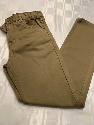 Marks And Spencer Boys Tan/stone Jeans Age 12-13, Worn Once