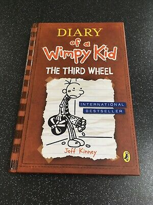Diary of a Wimpy Kid: The Third Wheel (Book 7) by Jeff Kinney (Hardback, 2012)