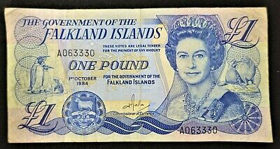 1984 - Government Of The Falkland Islands £1 - One Pound Note