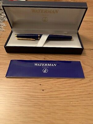 Waterman Fountain Pen, Boxed, Immaculate Condition