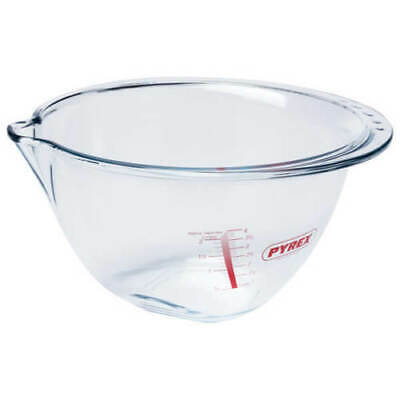 Pyrex 4.2L Expert Bowl With Gradients Glass Mixing Bowls Large
