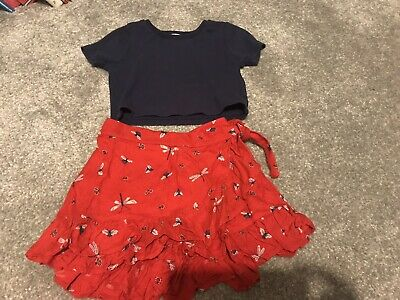 Girls  M &S Outfit Set 4-5 Years