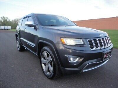 2014 Jeep Grand Cherokee Limited 2014 JEEP GRAND CHEROKEE LIMITED NAV BUC PANO ROOF MSRP $46K CLEAN CARFAX AWD V6