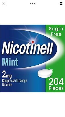 Nicotinell Mint 2mg 204 Lozenges